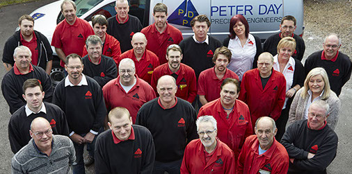 Peter Day Precision Engineers — Staff